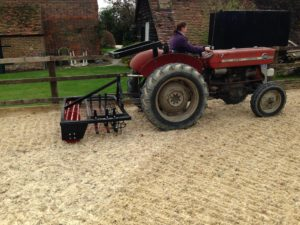 Tractor Mounted Arena Leveller